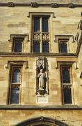 Statue in wall of Christ Church college Oxford University, Oxford, England Kuvituskuvat