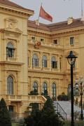 The presidential palace, Hanoi, Vietnam - stock photo