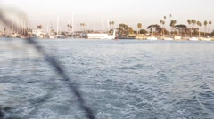 Marina Del Rey harbor Stock Footage