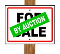 By Auction Stock Illustration