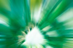 green and white color radial motion blur abstract - stock illustration