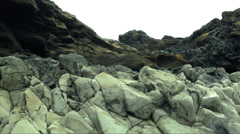Abstract Geological Formations ICELAND  Stock Footage