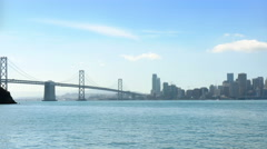 San Francisco panorama at daytime - stock footage