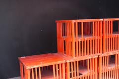 Red wooden cage Kuvituskuvat