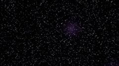 Speed of light travel stars - 1080p Stock Footage