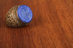 The old Ottoman ring from Anatolia - stock photo