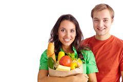 Healthy couple Stock Photos
