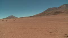 Stock Video Footage of Offroad in Extreme Terrain in Bolivia, Altiplano