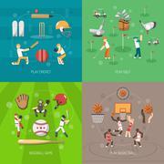 Sport Design Concept - stock illustration