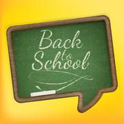 Back to school. EPS 10 Stock Illustration