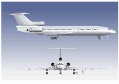Hi-detailed passenger airliner Stock Illustration