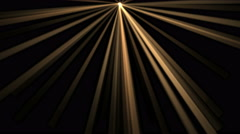 4k Ray Stage Lighting background,radiation laser energy,tunnel passage line. Stock Footage
