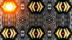 Different Led light virtual studio art 53 - stock footage