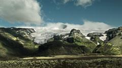 Vatnajökull Glacier, ICELAND  Stock Footage
