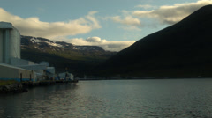Western Fjords ICELAND  Stock Footage