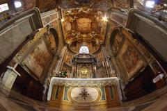 Baroque altar Stock Photos