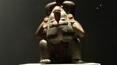 Precolumbian Exhibition, Peru, South America - stock footage
