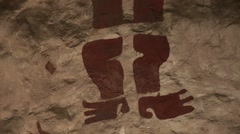 Precolumbian Exhibition, Peru, South America Stock Footage