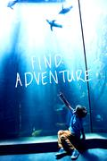 Composite image of find adventure - stock illustration