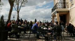Trafalgar Tavern, Greenwich, London Stock Footage