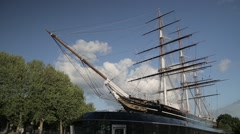 Cutty Sark Boat, London | HD 1080 Stock Footage