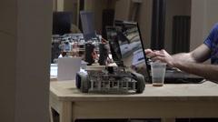 Robot. AI. New technologies. Stock Footage