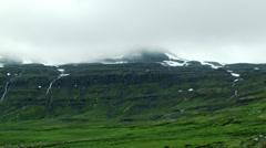Eastern Fjord SEYDISFJORDUR, ICELAND - CIRCA AUGUST, 2014 Stock Footage