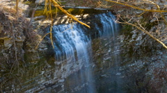 HD Timelapse Of A Beautiful Waterfalls In Spring/ Nature Footage Stock Footage
