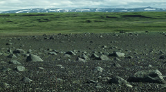Desolate Landscape ICELAND - CIRCA AUGUST, 2014 Stock Footage