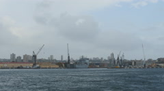 The Naval base in Sydney 4K Stock Footage