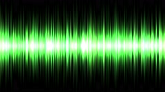 4k Abstract ray light background,sound acoustic wave line,record music signal Stock Footage