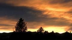 Colorado Sunset Stock Footage