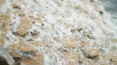 Man-made waterfall in Ukraine Kyiv Stock Footage
