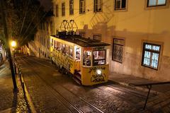 Stock Photo of Lisbon Tram, Portugal