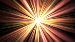 4k Rays light background,flare star,radiation laser energy,tunnel passage lines. Stock Footage