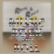 Music rock and roll Piirros