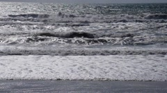Wave, Sea, Sand and Dunes Stock Footage