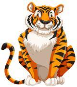 Tiger - stock illustration