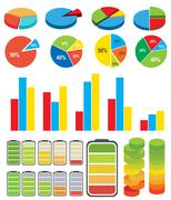 Graphs_charts Stock Illustration
