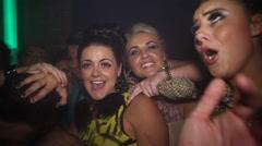 Lairy Nightclub Dancers - stock footage