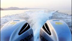 Boat machine sail Stock Footage