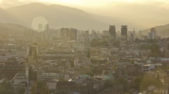 Sarajevo Cityscape Time Lapse - stock footage