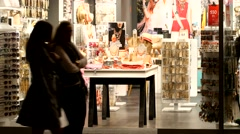 Shopping in Budapest Stock Footage
