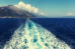 Boat trip - stock photo