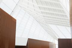 Ceiling of modern office - stock photo