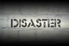 disaster - stock illustration