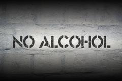 No alcohol Stock Illustration