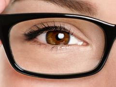 Glasses eyewear closeup - stock photo
