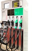 Open gas machine - stock photo