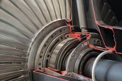 Jet engine Kuvituskuvat